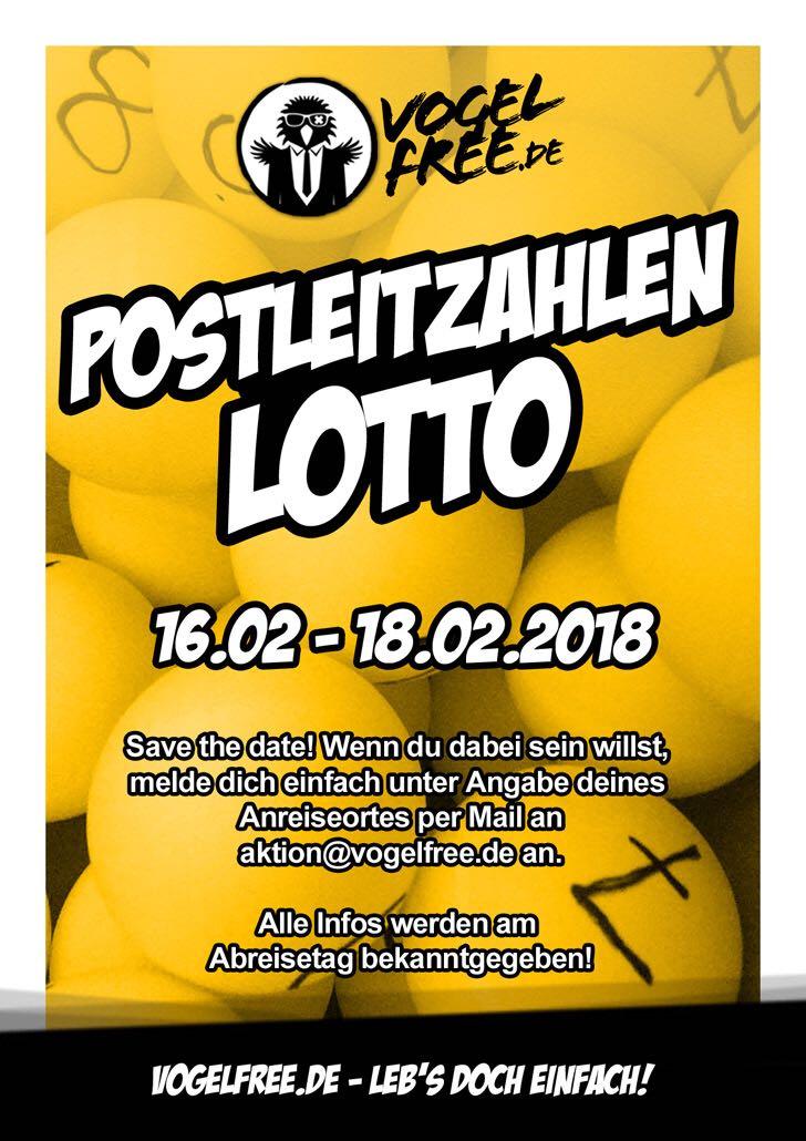 Postleitzahlen Lotterie