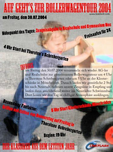2004.07.30-Bollerwagentour-Party