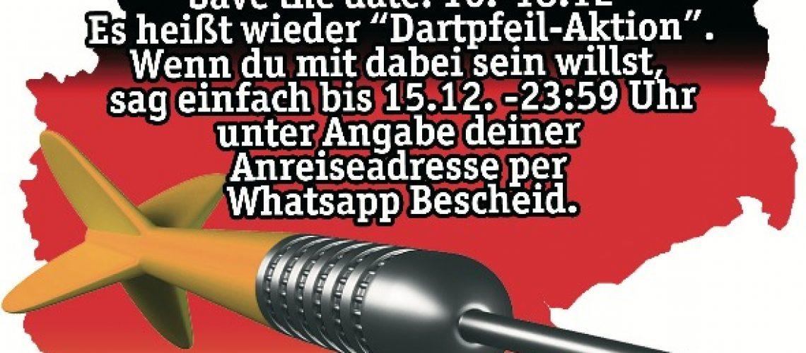2016.12.16 Dartpfeil-Aktion