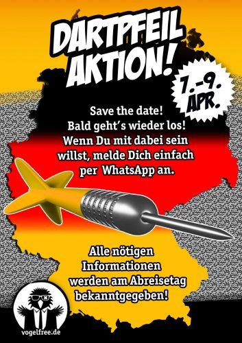 2017.04.07 Dartpfeil-Aktion