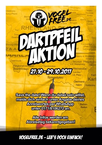 2017.10.27 Dartpfeil-Aktion