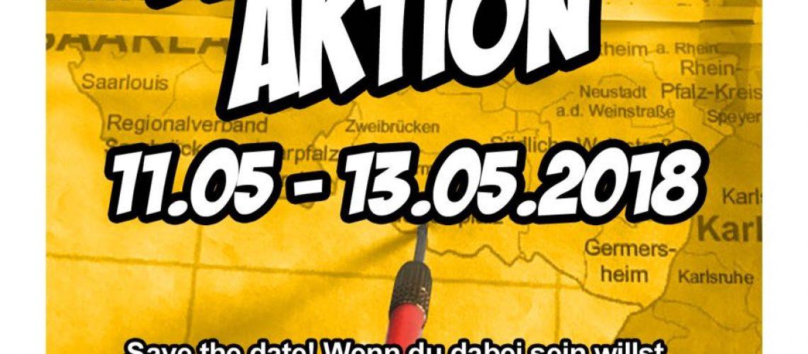 2018.05.11 Dartpfeil-Aktion